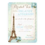 Paris Bridal Shower Tea Party