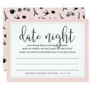 Paris Romance Bridal Shower Date Night