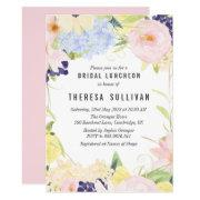 Pastel Spring Flowers Bridal Luncheon