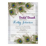 Peacock Feather Bridal Shower Brunch