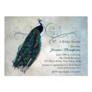 Peacock Scroll Bridal Shower