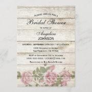 Rustique Vintage Boho Country Chic Blanc Daffodil échelonné Mariage Invitations