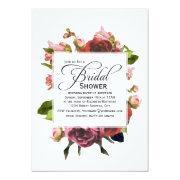 Pink Bouquet Floral Bridal Shower