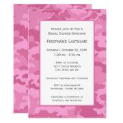 Pink Camo Bridal Shower Or Engagement Party
