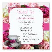 Pink Floral Bridal Shower Tea Party