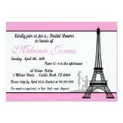 Pink Paris Bridal Shower