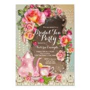 Pink Rose Pearl Bridal Tea Party