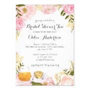 Pink Rose Teacup Bridal Shower