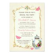 Pink Vintage French Bridal Tea Party