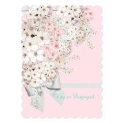 Pink & White Flowers And Lattice Party