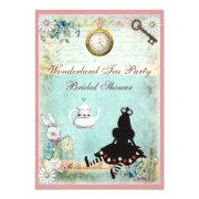 Princess Alice In Wonderland Bridal Shower