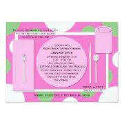 Recipe Bridal Shower  -- Pretty In Pink