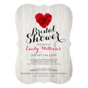 Red Rose Bridal Shower