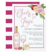 Rosé Garden | Bridal Shower Invitations