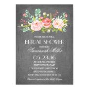 Rose Garden Chalkboard | Bridal Shower
