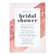 Rose Gold, Blush & Sequin Bridal Shower