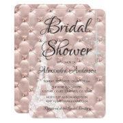 Rose Gold Pink Paris Bridal Shower