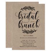 Rustic Bridal Shower Brunch
