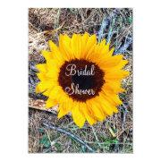 Rustic Camo Sunflower Bridal Shower