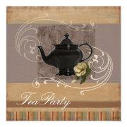 Rustic Country Bridal Shower Tea Party