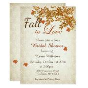 Rustic Fall In Love Bridal Shower