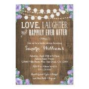 Rustic Lavender Floral Bridal Shower