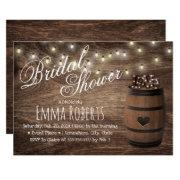 Rustic Love Sign Wine Barrel Country Bridal Shower
