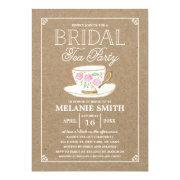 Rustic Modern Bridal Tea Party | Bridal Shower