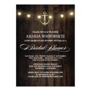Rustic Nautical Anchor Bridal Shower