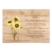 Rustic Sunflowers