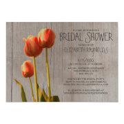 Rustic Tulip Bridal Shower