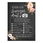 Rustic Wedding Photo Scavenger Hunt I Spy Game