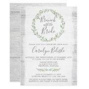 Rustic Wood Wreath Bridal Shower Brunch