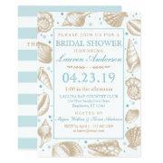 Seashell Nautical Beach Wedding   Bridal Shower