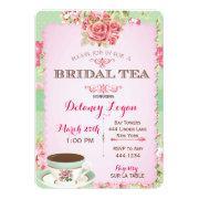 Shabby Chic Bridal Shower Tea