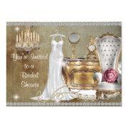 Shabby chic bridal shower invitations funbridalshowerinvitations shabby chic vintage bridal shower bling filmwisefo