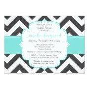 Simple Chevron Bridal Or Bridal Shower