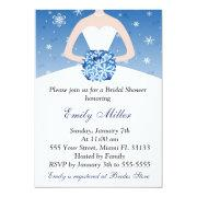 Snowflake Winter Bridal Shower