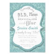 Something Old New Borrowed & Blue Bridal Shower