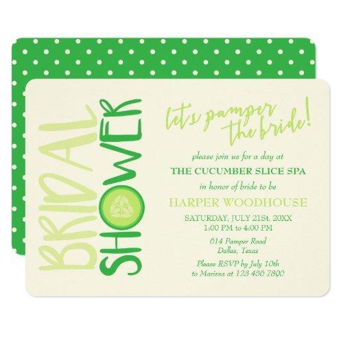 Spa Day | Let's Pamper The Bride | Bridal Shower