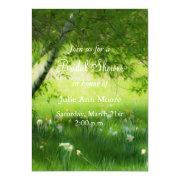 Spring Daffodils Bridal Shower Cards