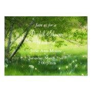 Spring Daffodils Bridal Shower Invites