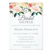 Spring Floral Bridal Shower