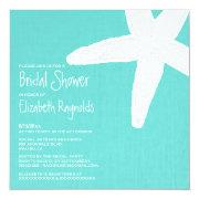 Starfish Beach Bridal Shower