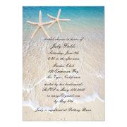 Starfish Beach Wedding Bridal Shower