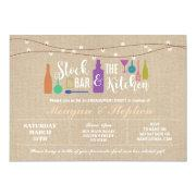 Stock The Bar & Kitchen Engagement Couples ≈