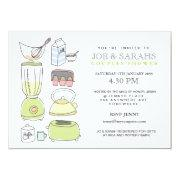 Stock The Kitchen Couples Shower Party Invite