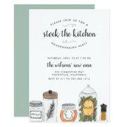Stock The Kitchen Housewarming Party Invitation