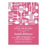 Stock The Kitchen Retro Style Bridal Shower