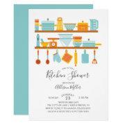 Stock The Kitchen Shower Invitations